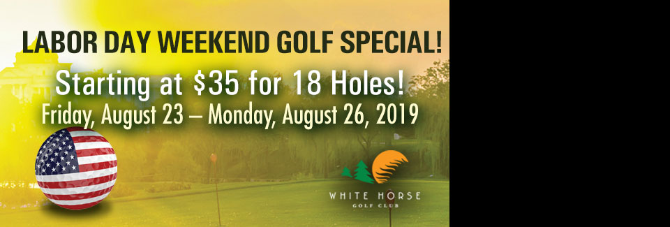 Labor Day Weekend Golf Special
