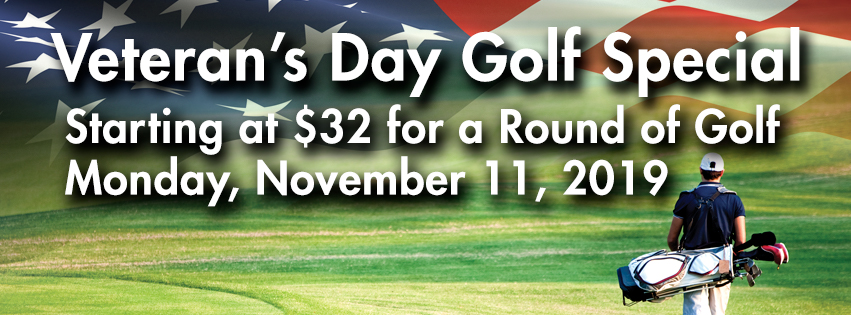 Veteran's Day Golf Special