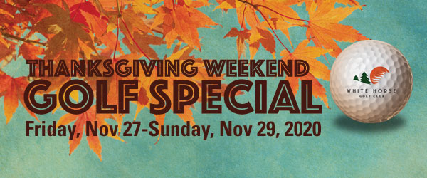 Thanksgiving Weekend Golf Special