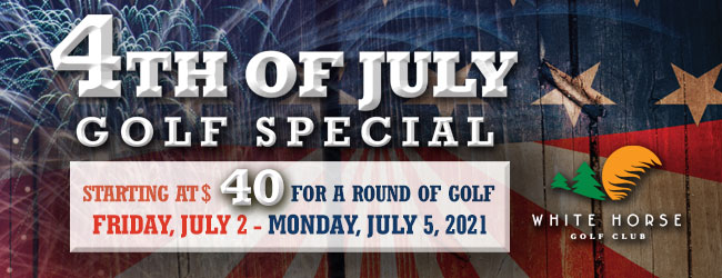 4th of July Golf Special